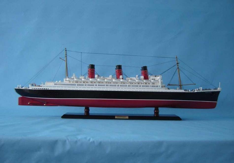 Queen Mary Model Ship - 2