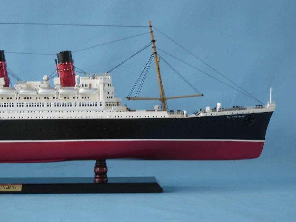 Queen Mary Model Ship - 5