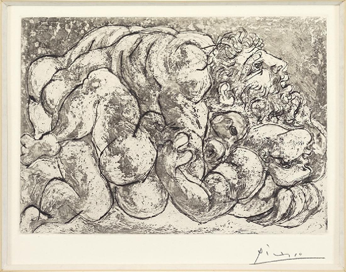 Pablo Picasso (Spanish, 1881-1973) Le Viol IV.