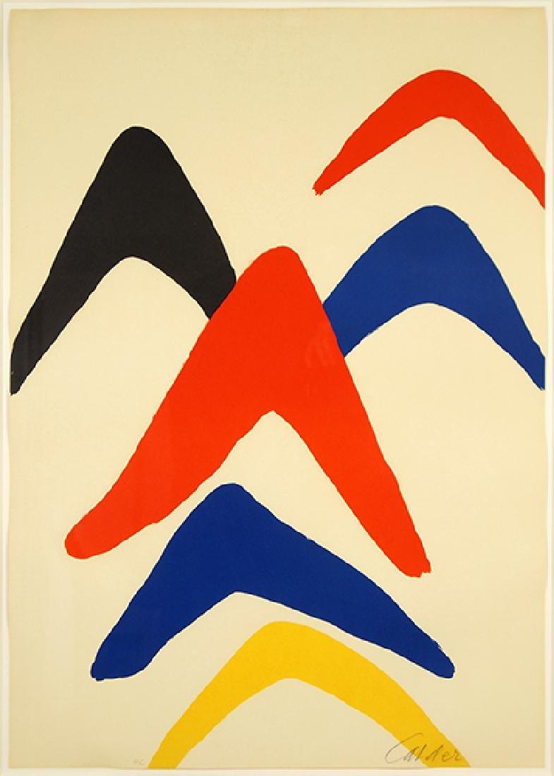 Alexander Calder (American, 1898-1976) Boomerangs.