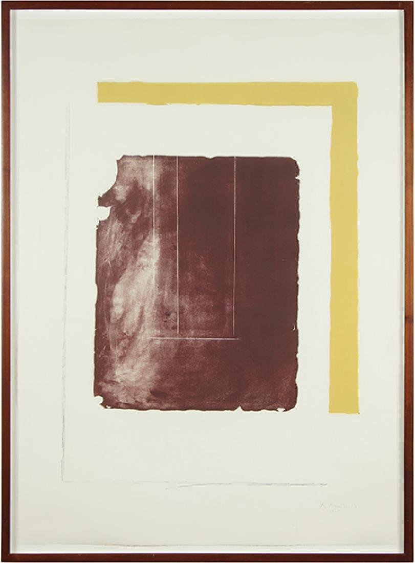 Robert Motherwell (American, 1915-1991) The Celtic