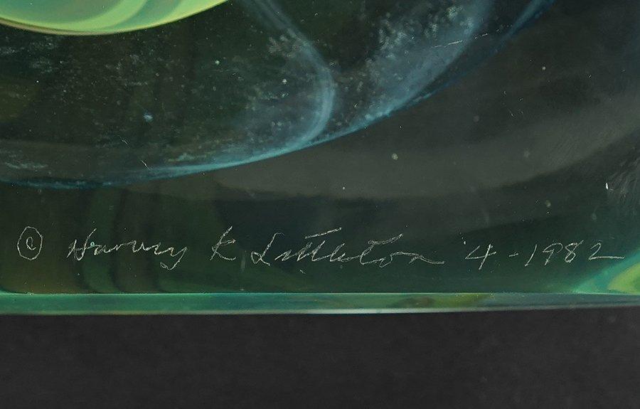 Harvey K. Littleton (American, 1922-2013) Two Glass - 2