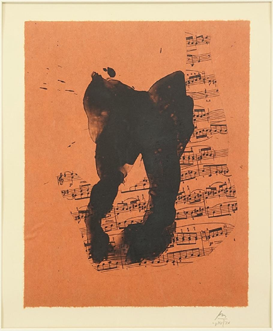 Robert Motherwell (American, 1915-1991) Music for J.S.
