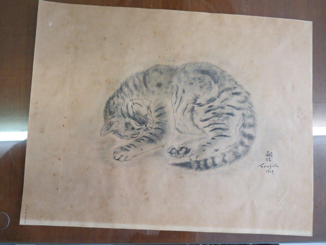Tsuguharu Foujita (Japanese-French, 1886-1968) Five - 3