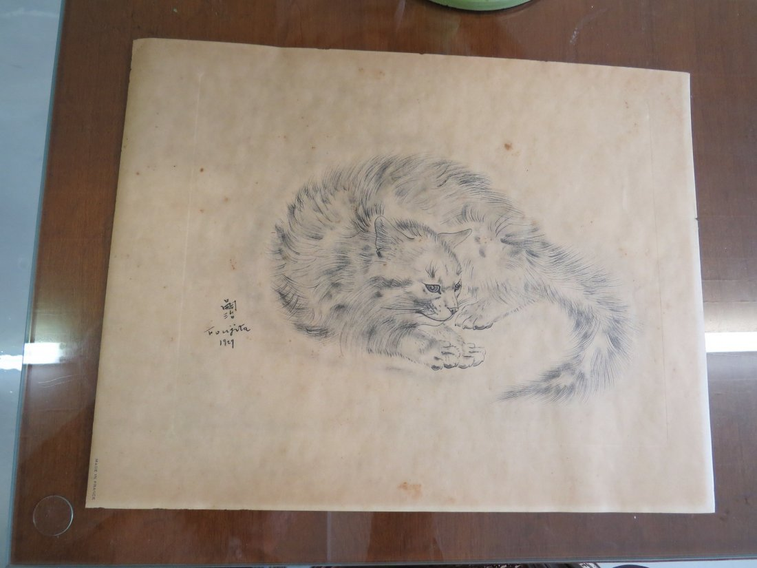 Tsuguharu Foujita (Japanese-French, 1886-1968) Five - 5