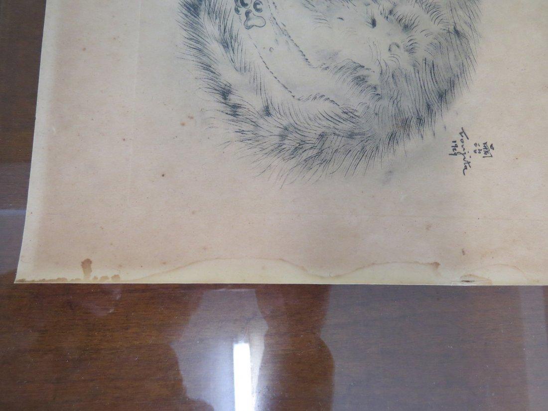 Tsuguharu Foujita (Japanese-French, 1886-1968) Five - 9
