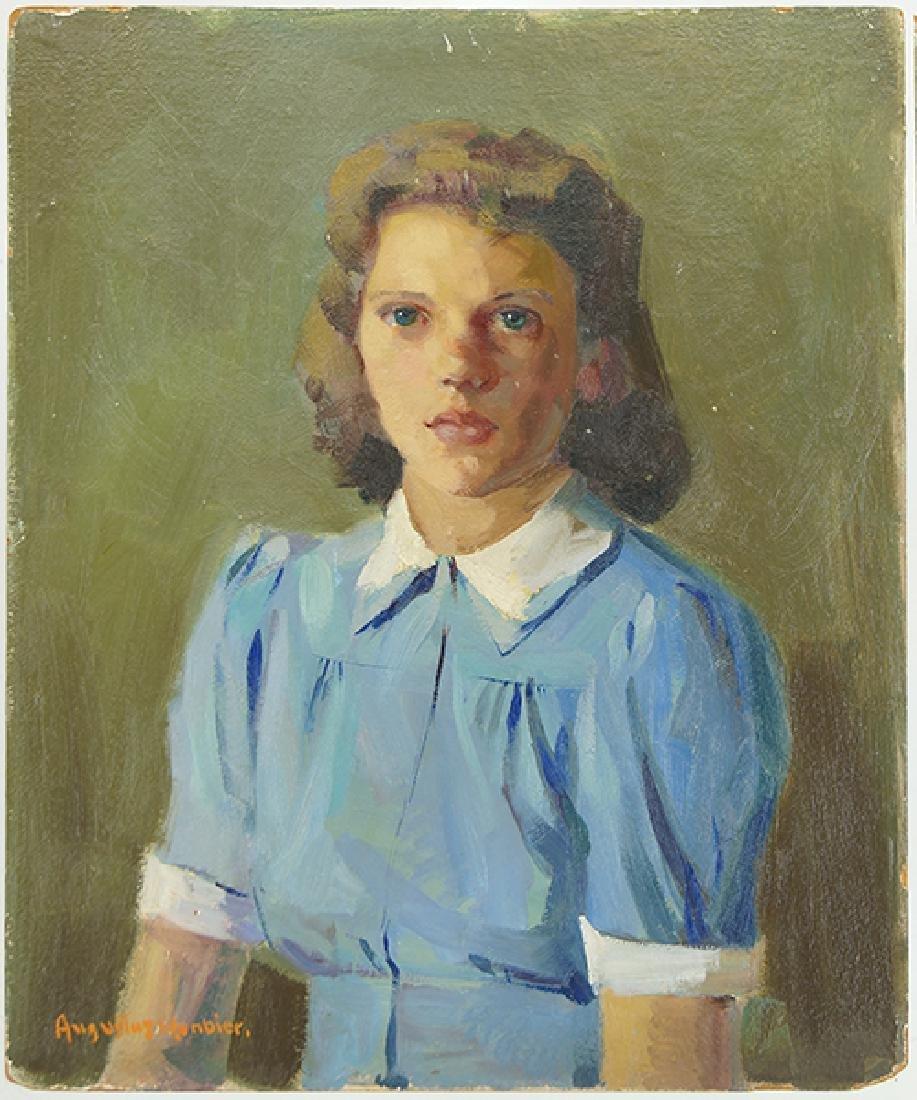 Augustus W. Dunbier (American, 1888-1977) Girl in a