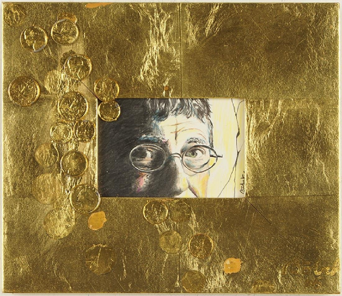 Tucker Bobst (American, 1923-2008) Loose Change (Bill