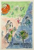 Marc Chagall (Russian/French, 1887-1985) Four Seasons.