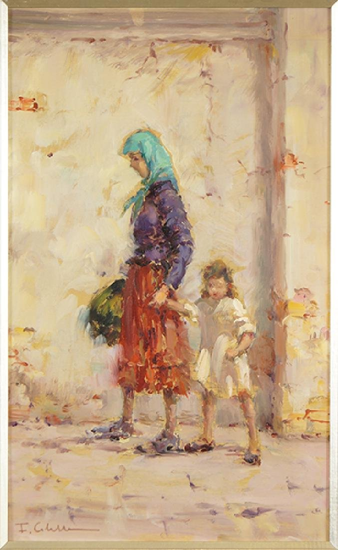 Franco Colella (Italian, 1900-1981) First Day of