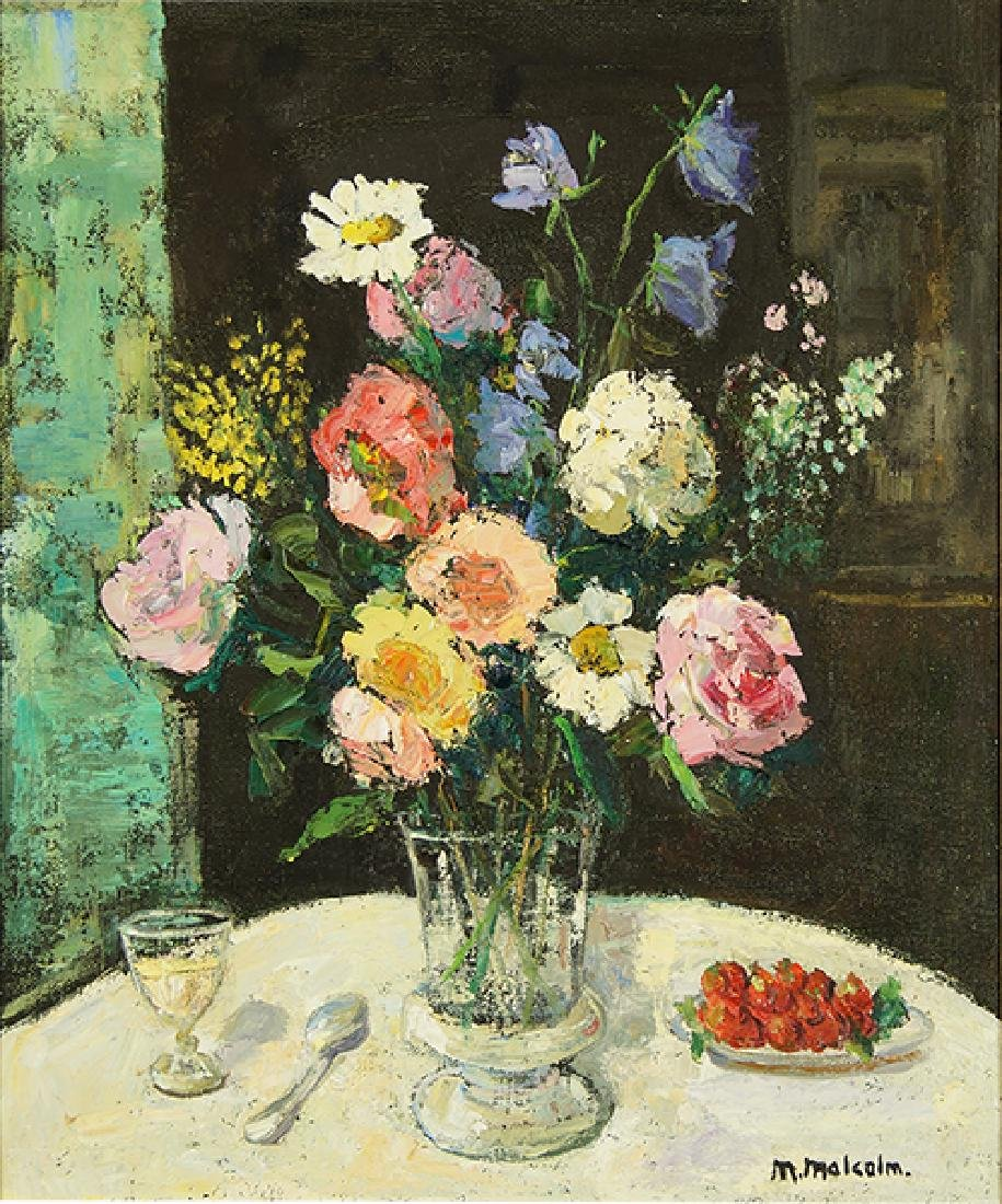 Mary Malcolm (American, 20th Century) Bouquet of