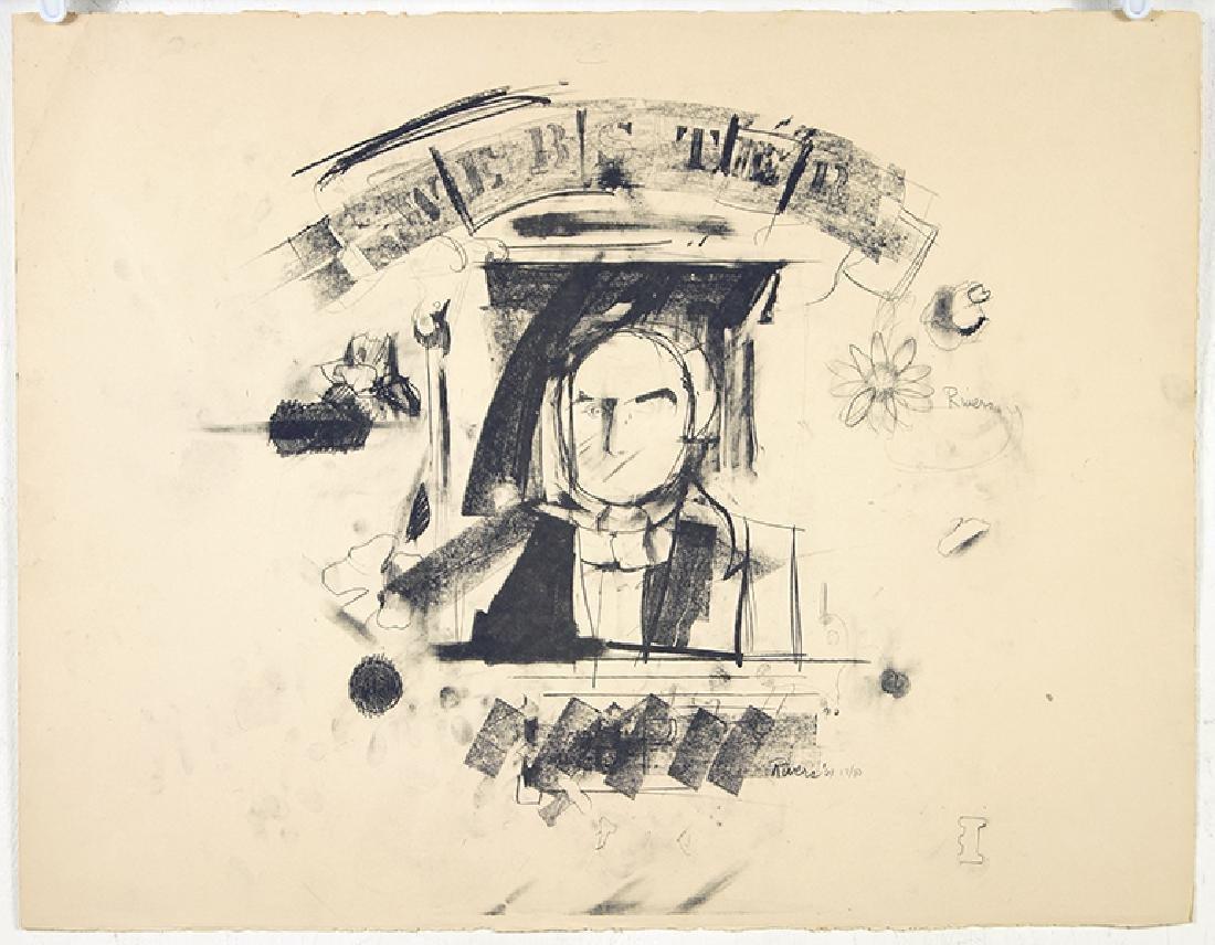 Larry Rivers (American, 1923-2002) Webster.