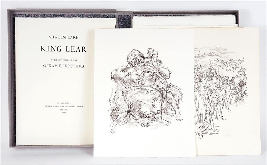 Oskar Kokoschka (Austrian, 1886-1980) King Lear by