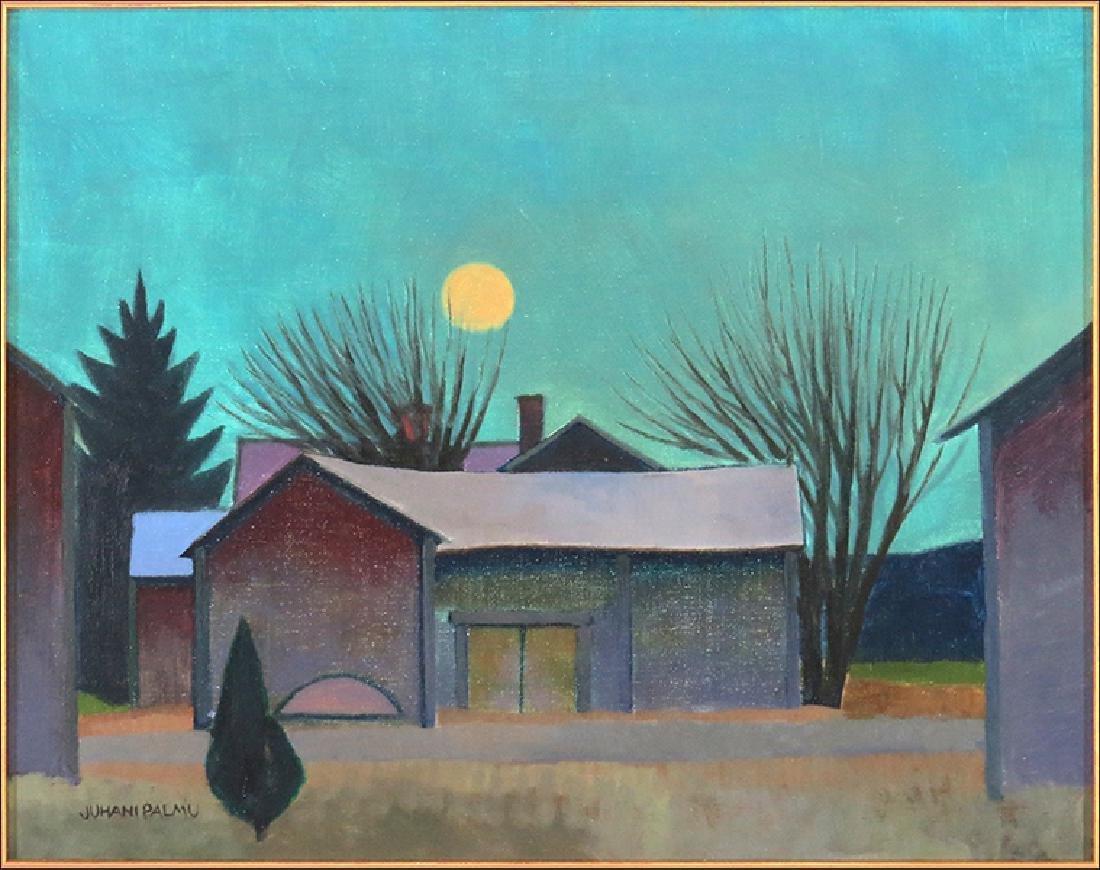 Juhani Palmu (Finnish, B. 1944)  Moonlight.