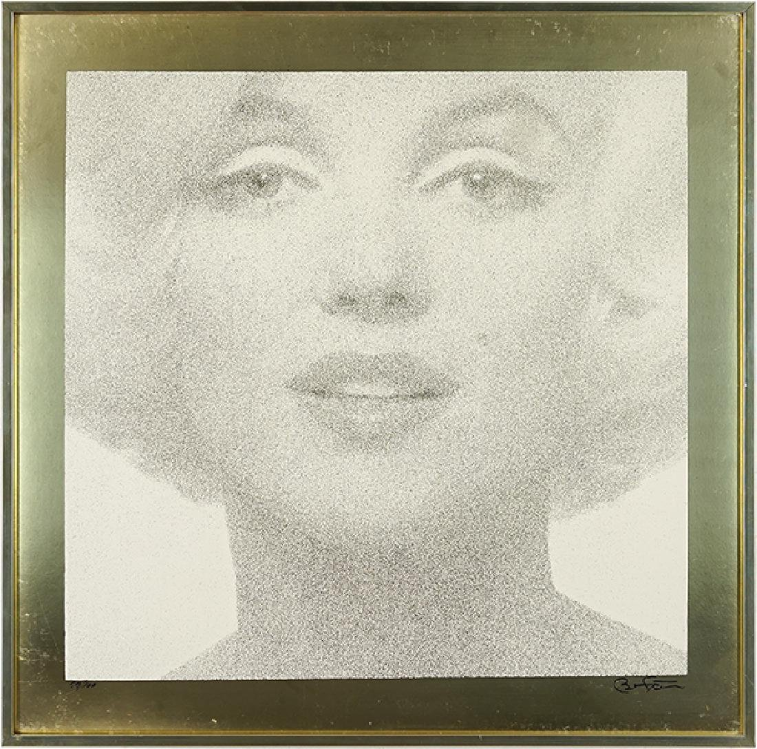 Bert Stern (American, 1929-2013) Marilyn - Gold.