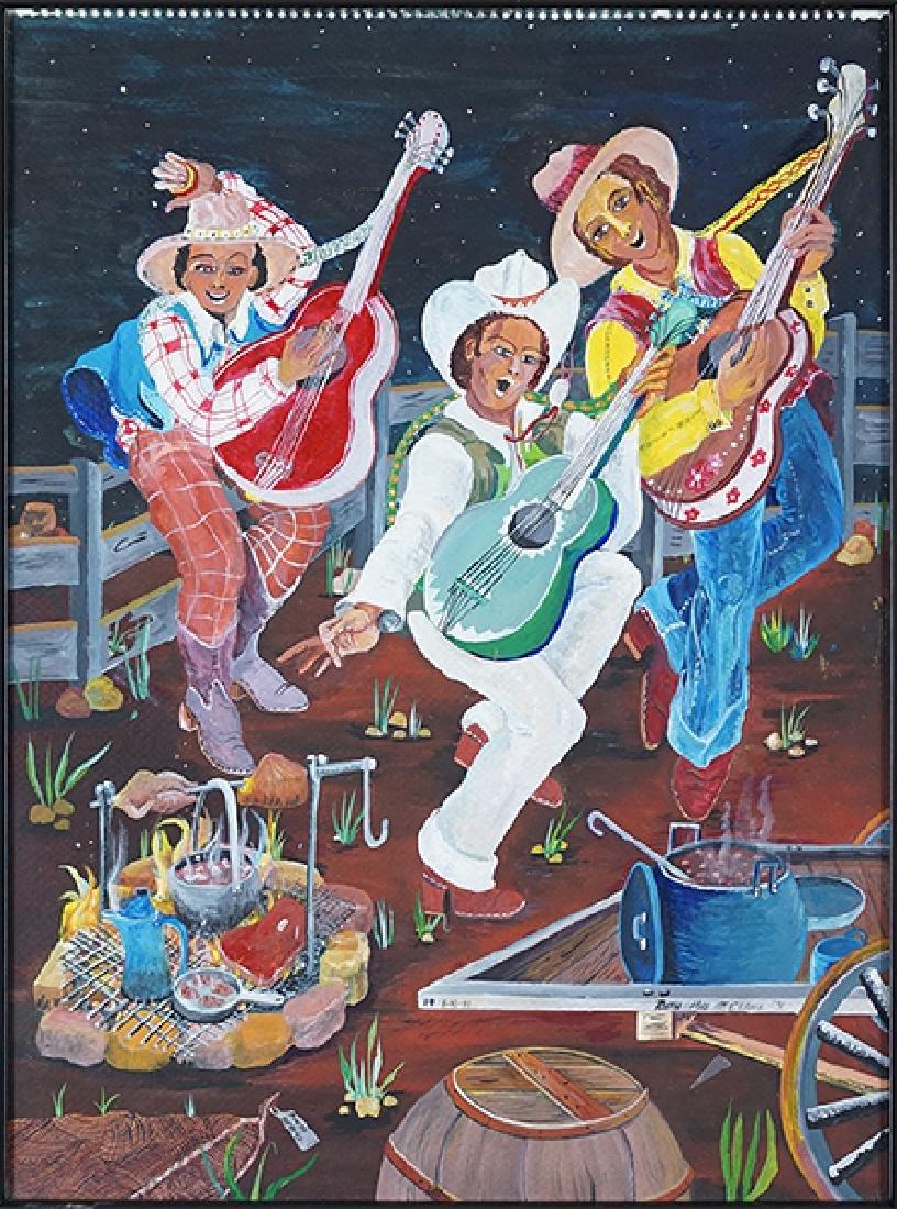 Ruth Mae McCrane (American, 1929-2002) Three Guitar