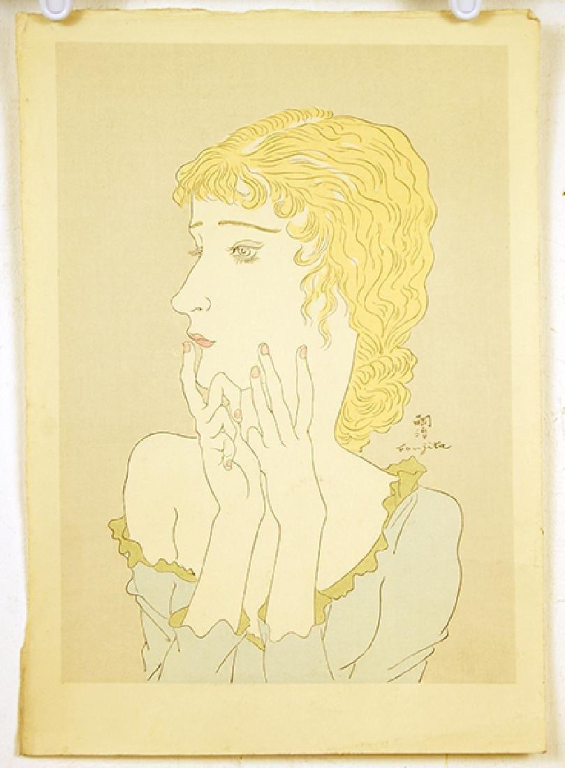 Tsuguharu Foujita (Japanese/French, 1886-1968) Blonde