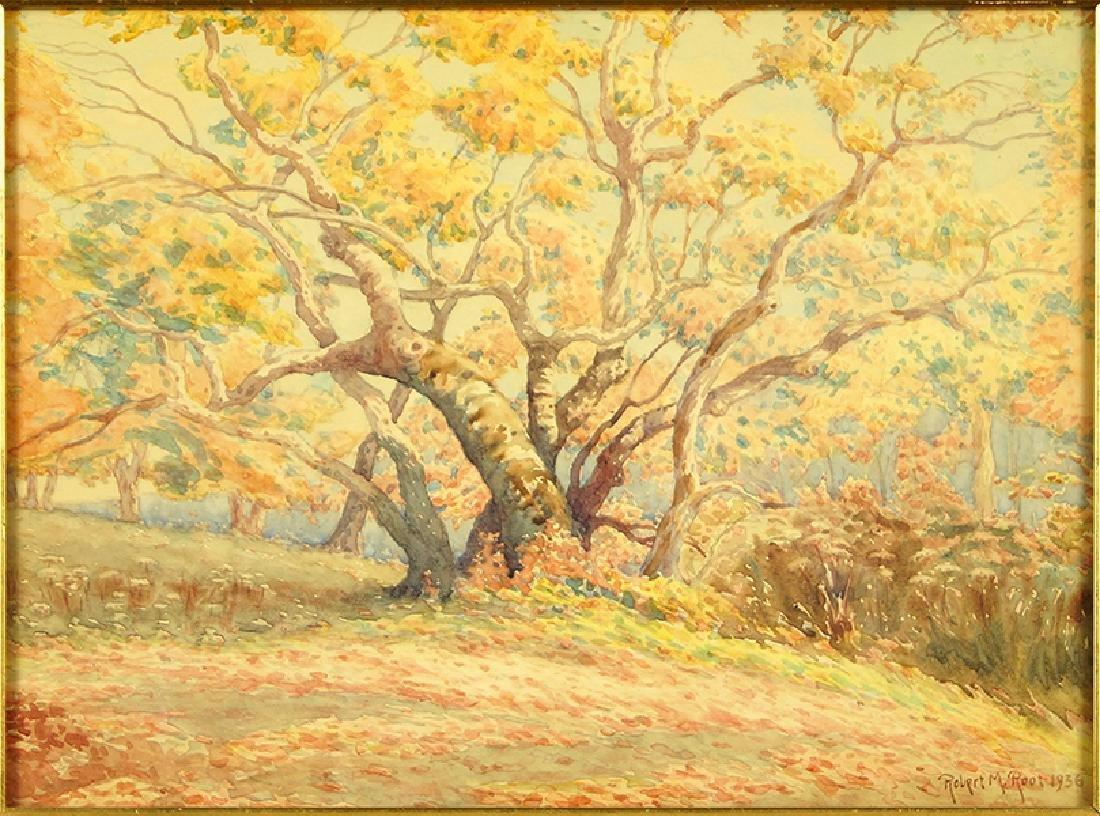 Robert Root (American, 1863-1937) Autumn Landscape.