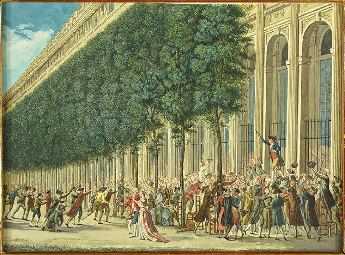 Artist Unknown (French, 18th Century) Scene de