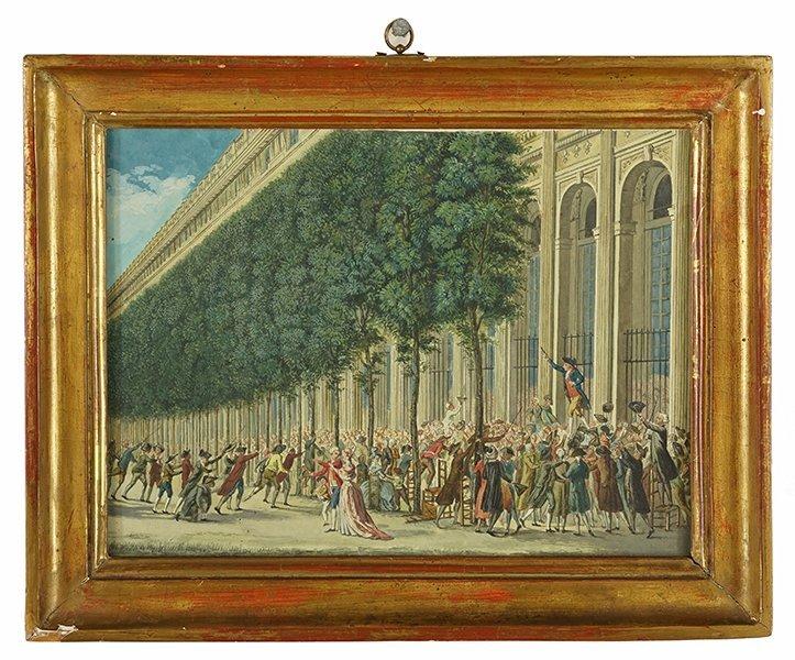 Artist Unknown (French, 18th Century) Scene de - 2