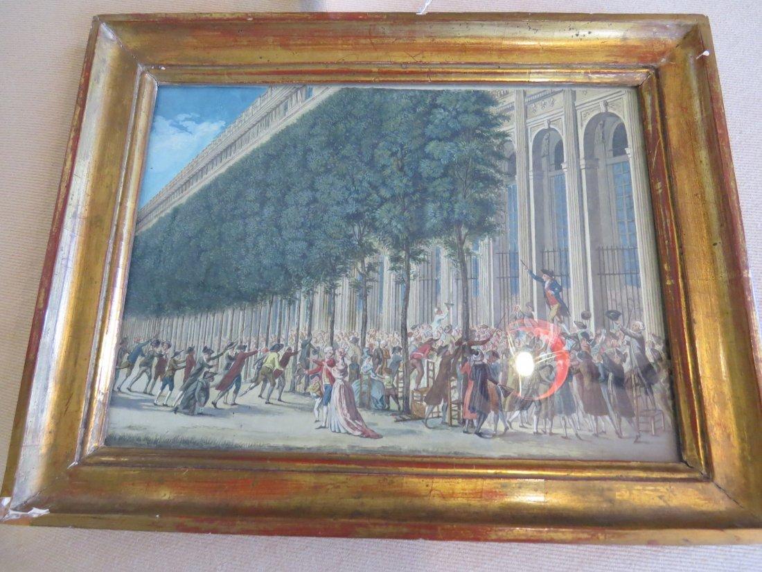 Artist Unknown (French, 18th Century) Scene de - 3