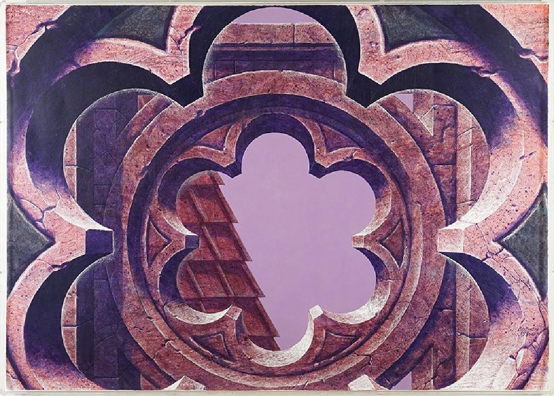 George Kozmon (American, B. 1960) Gothic Window.