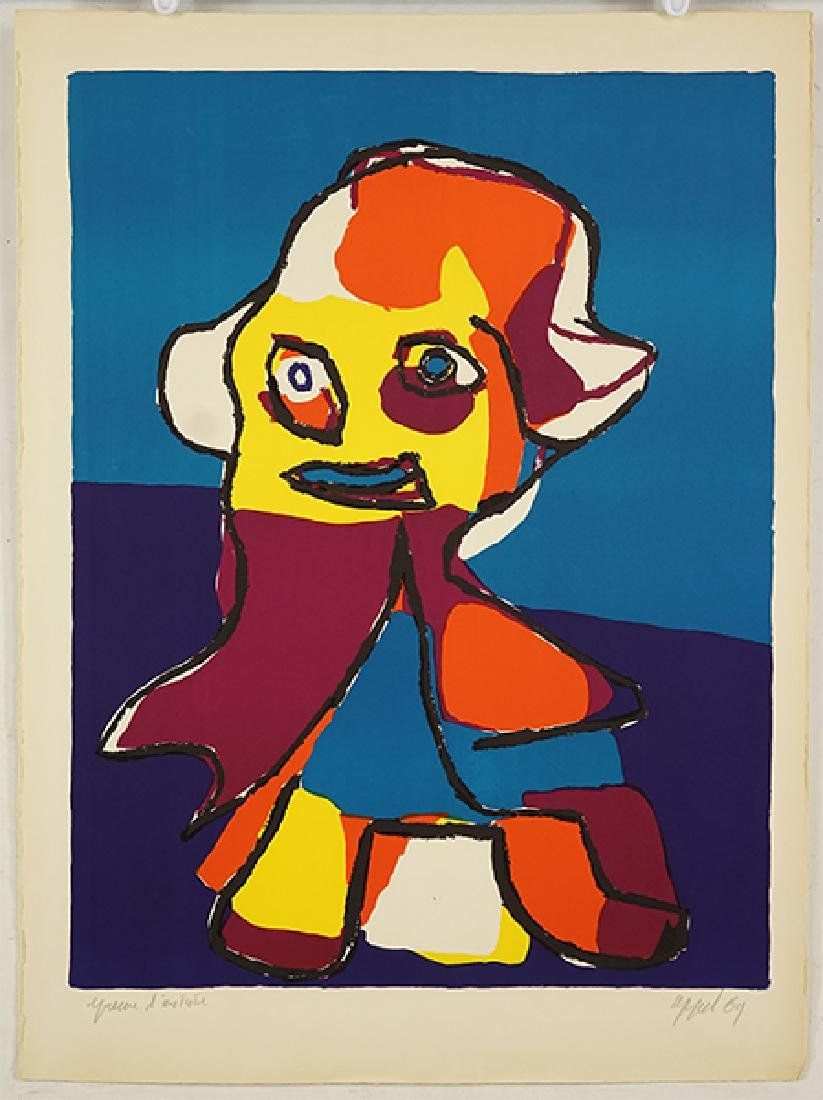 Karel Appel (Dutch, 1921-2006) Little Boy.