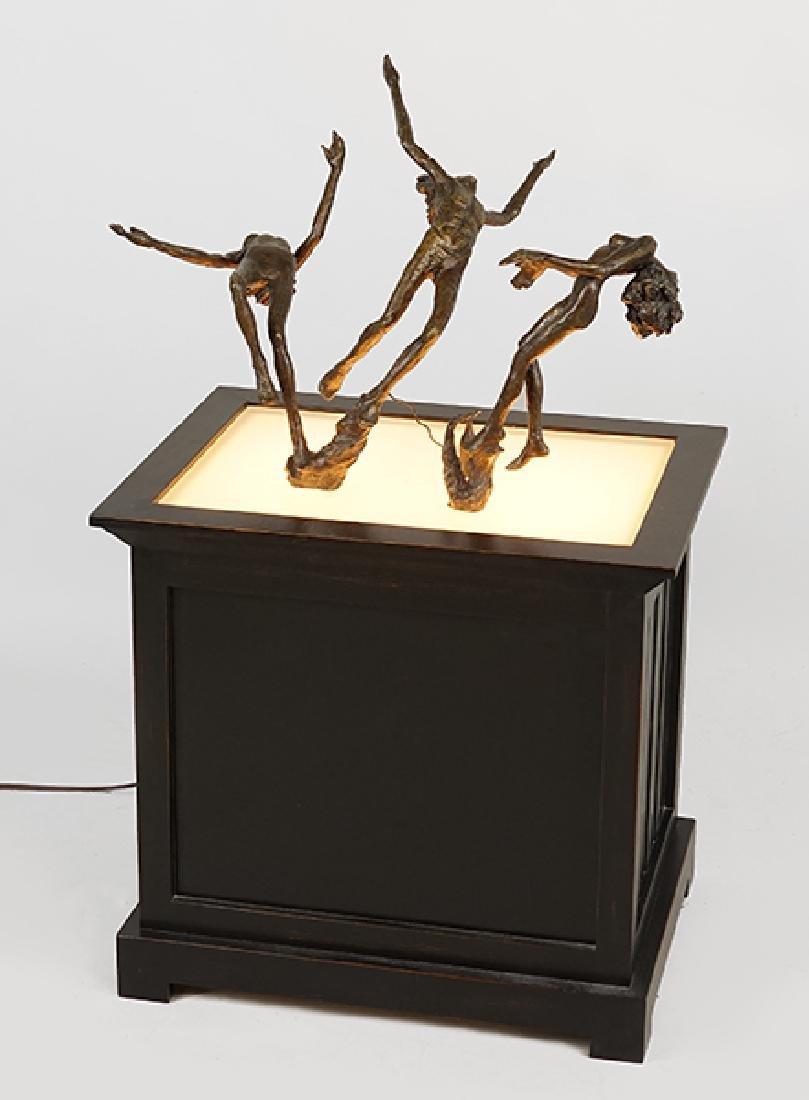 Victor Salmones (Mexican, 1937-1989) Three Figures.