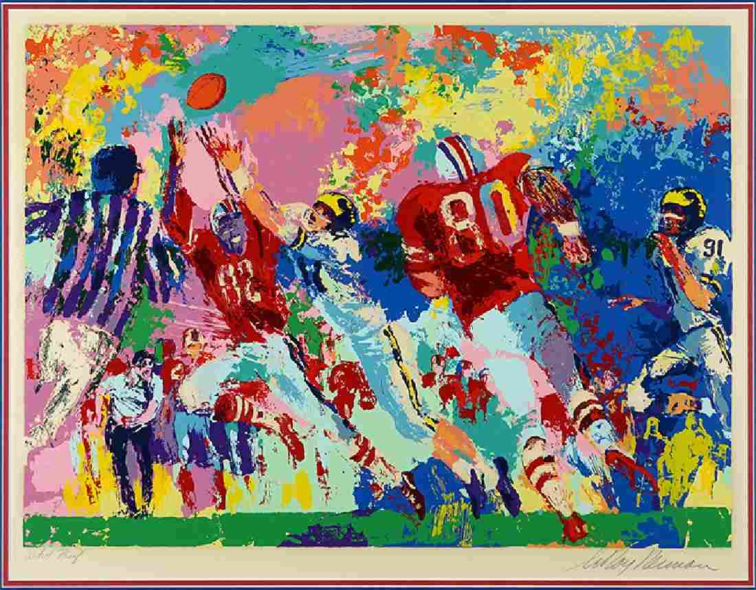 LeRoy Neiman (American, 1921-2012) Rivalry.
