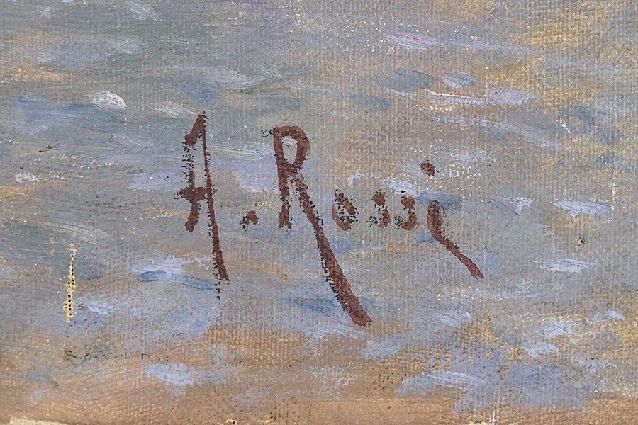 Alexander Mark Rossi (British, 1840-1916) The Treat. - 2