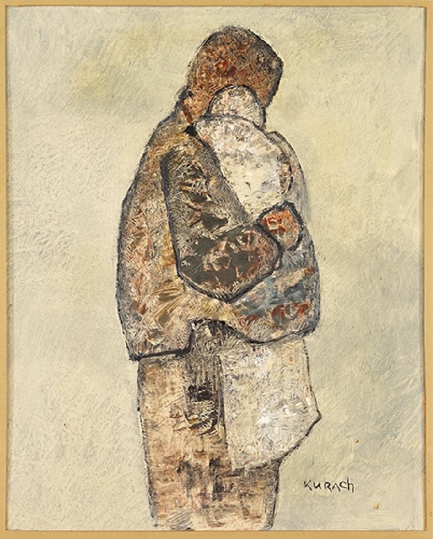 Ivan Kurach (Ukrainian/Italian, 1909-1968) Mother and