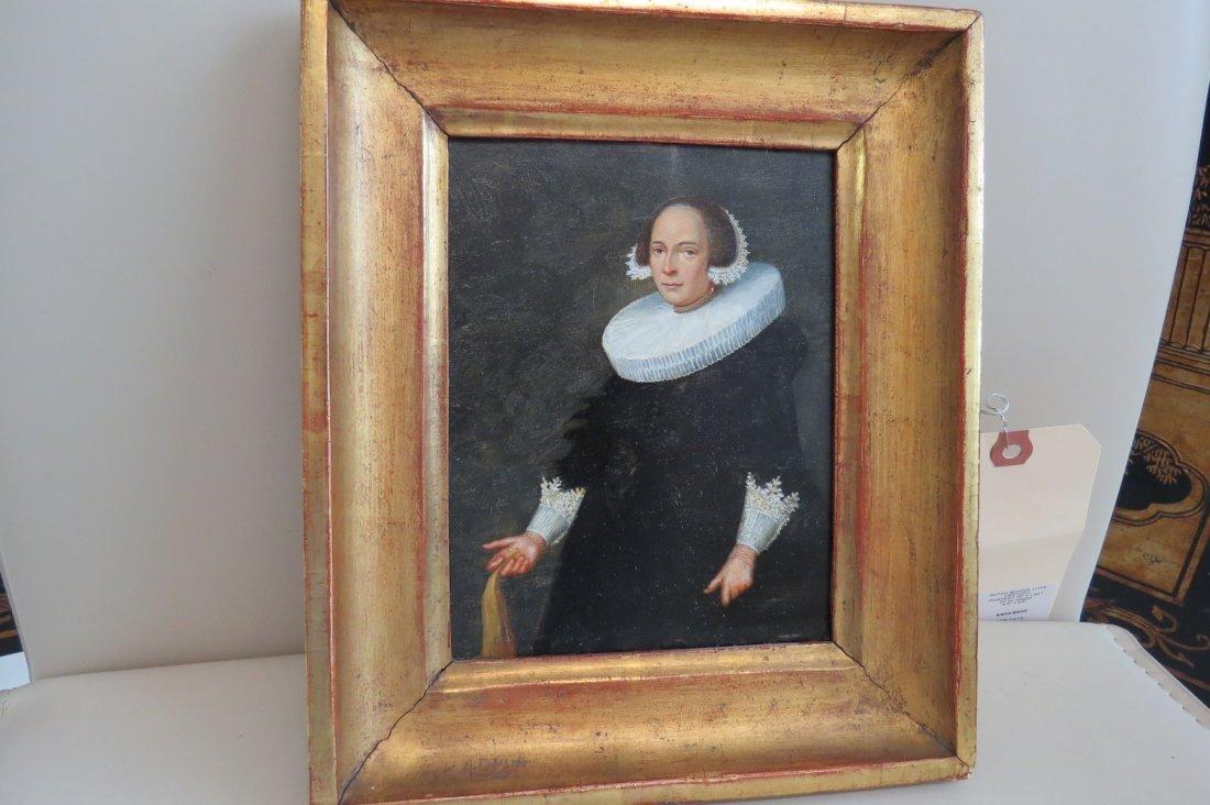 Dutch School (17th Century) Portrait of a Lady. - 10