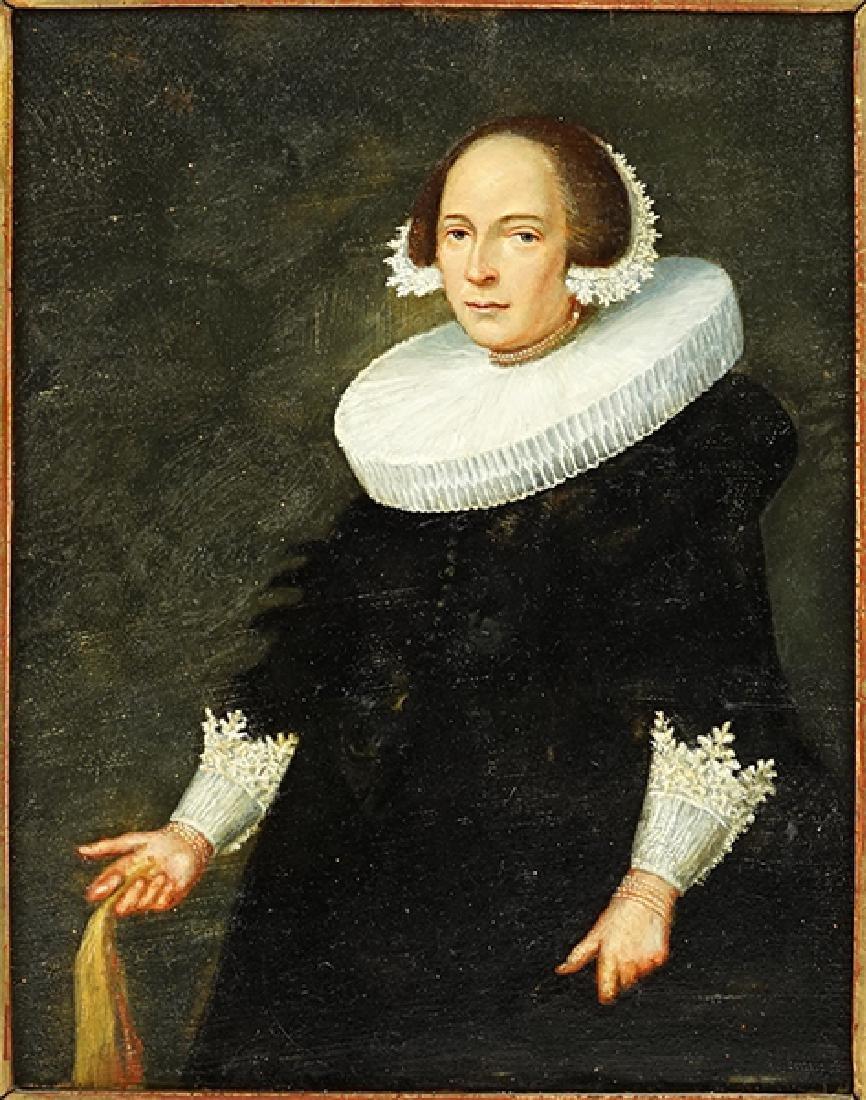 Dutch School (17th Century) Portrait of a Lady.