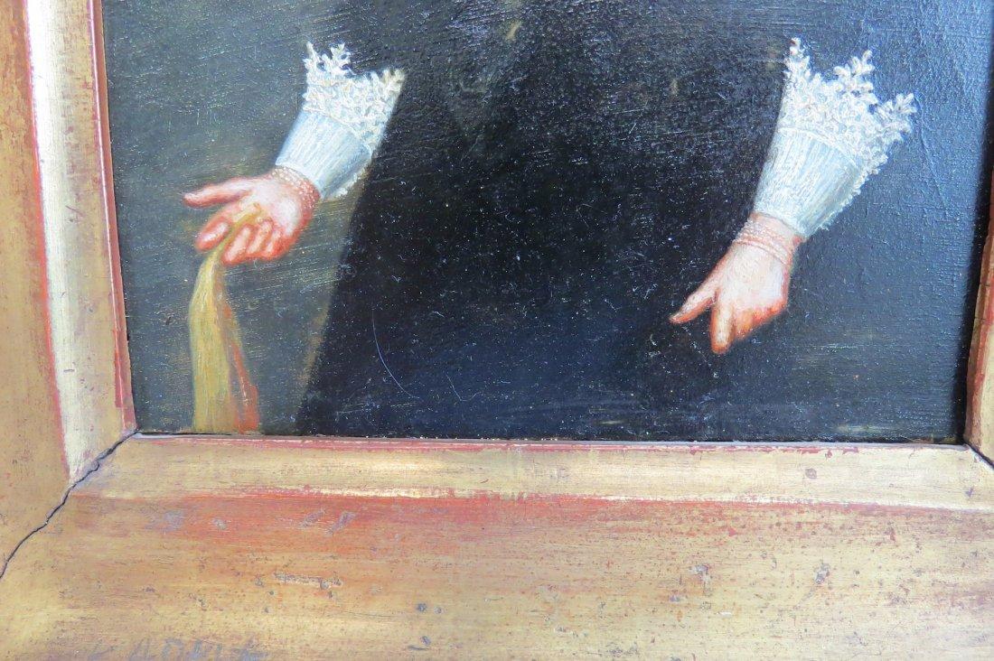 Dutch School (17th Century) Portrait of a Lady. - 6