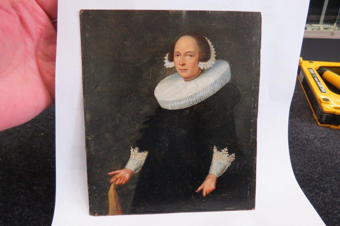 Dutch School (17th Century) Portrait of a Lady. - 7