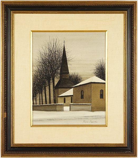 Jacques Deperthes (French, b. 1936) La Chapelle. - 2