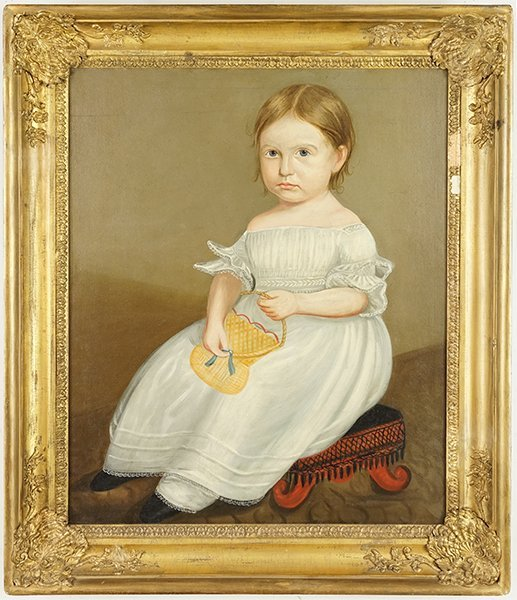 Artist Unknown (American, 19th Century) A Little Girl - 2
