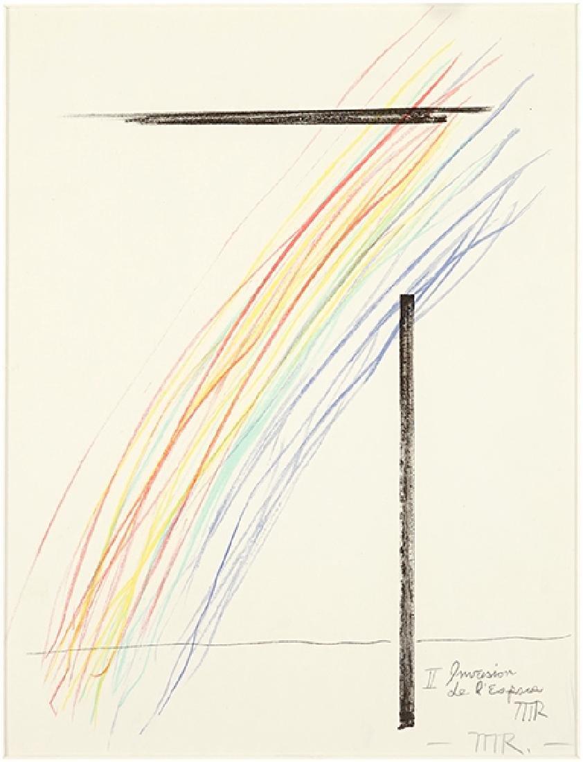 Man Ray (American, 1890-1976) Invasion de l'Espace.