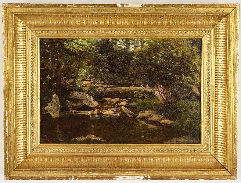 Artist Unknown (American, 19th Century) Forest Brook. - 2