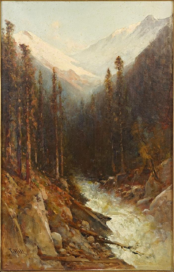 Thomas Hill (American, 1829-1908) Rocky Mountain