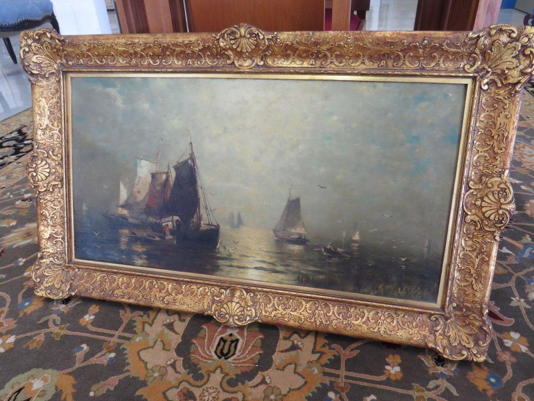 George McCord (American, 1848-1909) Fishing Boats. - 3
