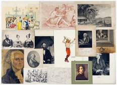 A Collection of 19th  20th Century Prints