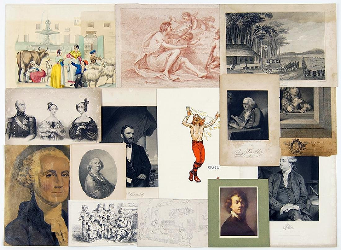 A Collection of 19th & 20th Century Prints.