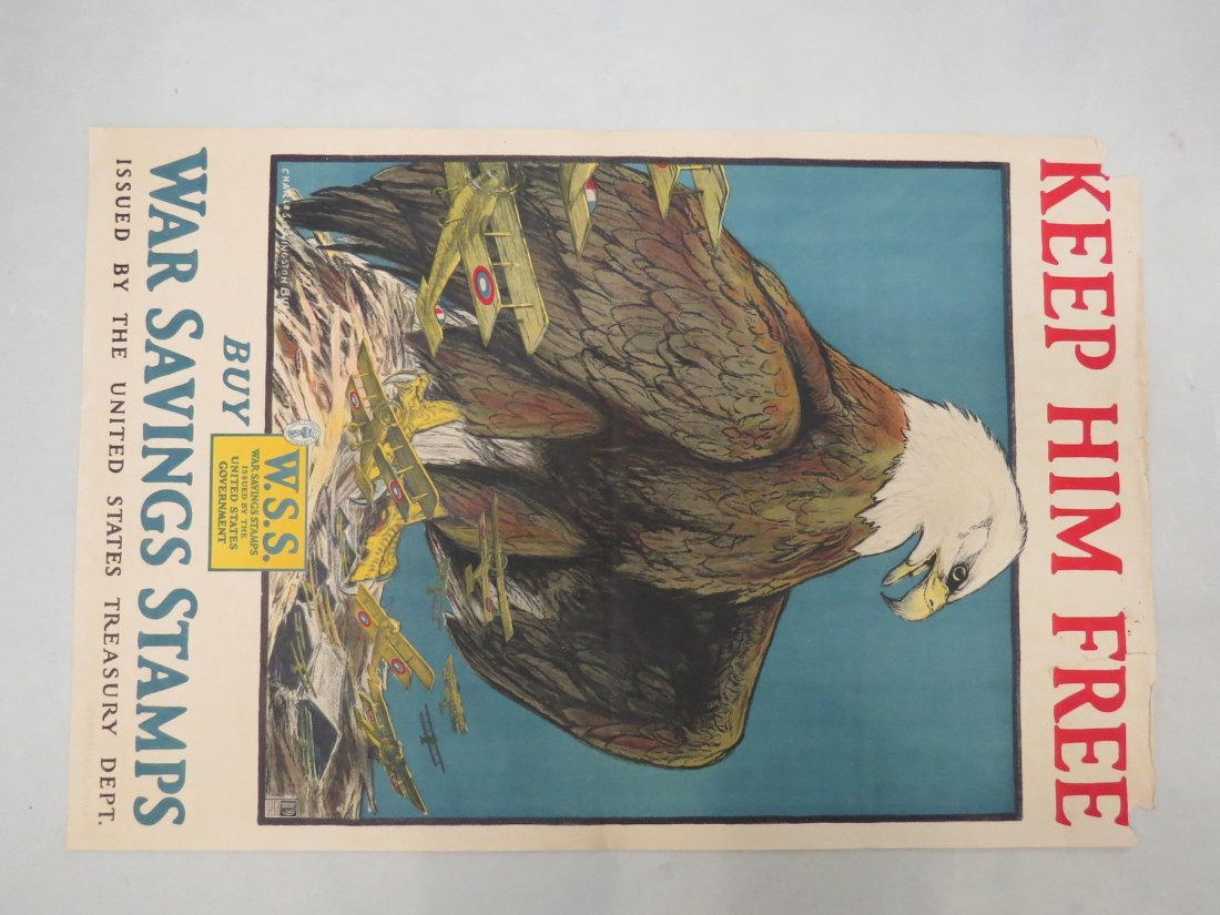 A Collection of Ten World War I Posters. - 5