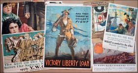 A Collection of Ten World War I Posters.