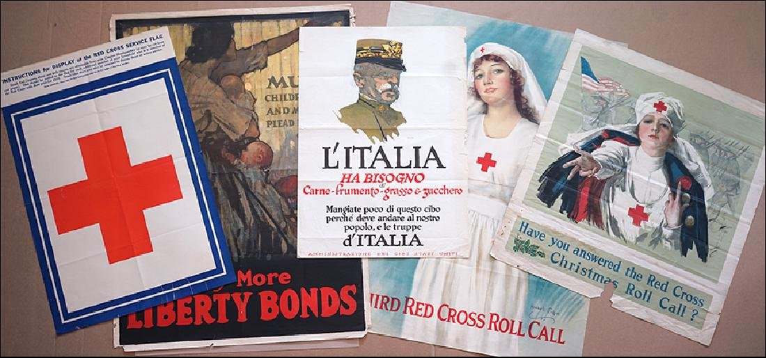A Collection of Five World War I Posters.