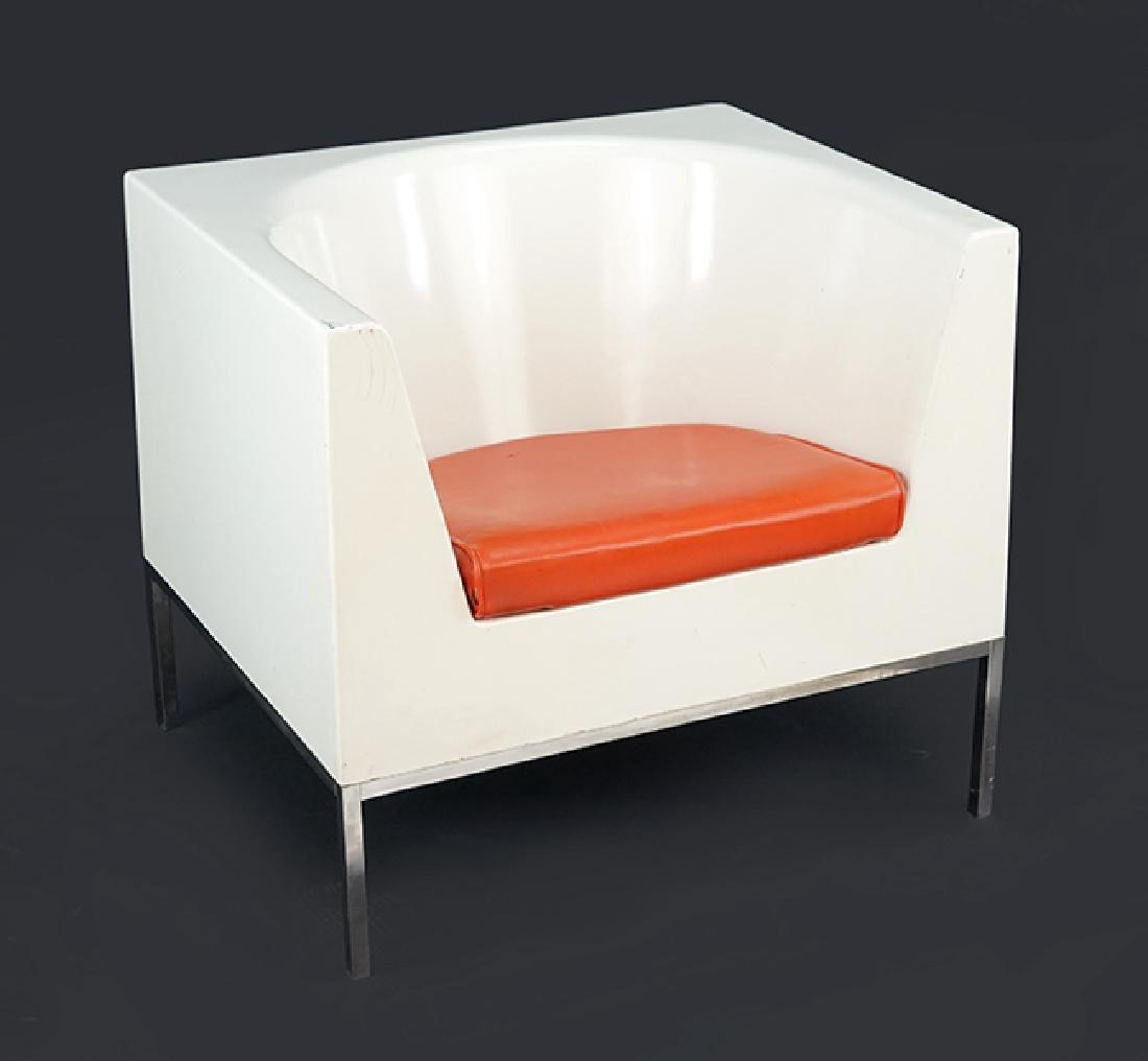 A Massimo Vignelli Chair.