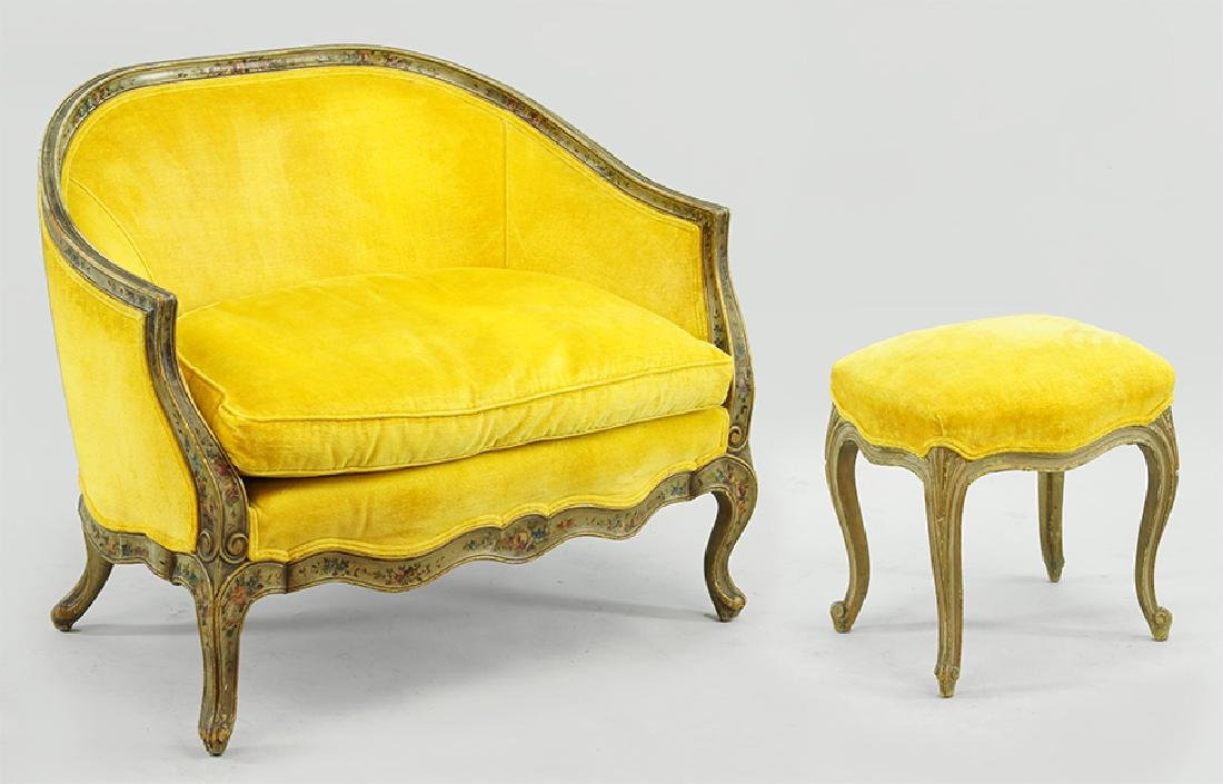A Pair of French Bergeres.