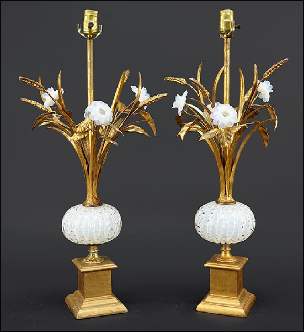 A Pair of Italian Table Lamps.