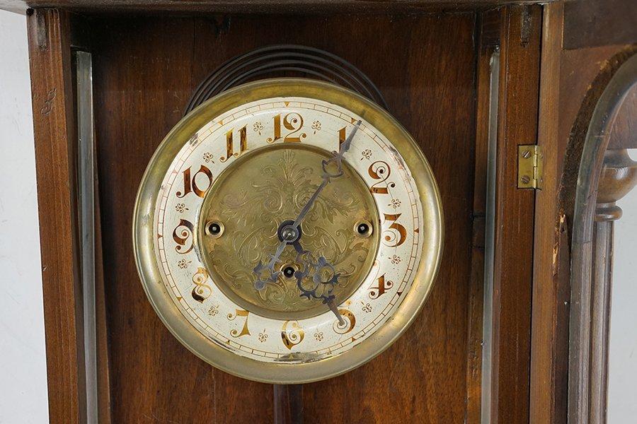 A German Regulator Wall Clock. - 2